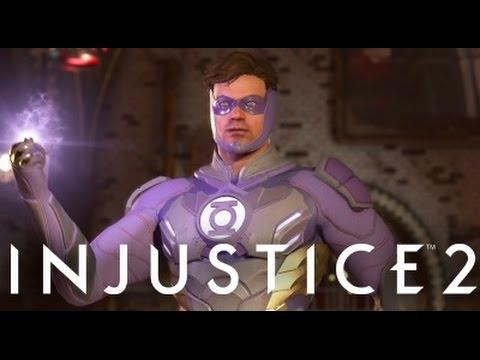 Injustice 2 - Dr Fate vs Green Lantern (Purple Pink?)