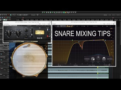 Snare Drum Mixing - Simple Steps To A Great Snare Sound