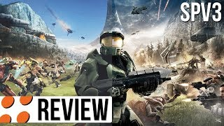 Halo: Combat Evolved Anniversary & SPV3 Mod Video Review