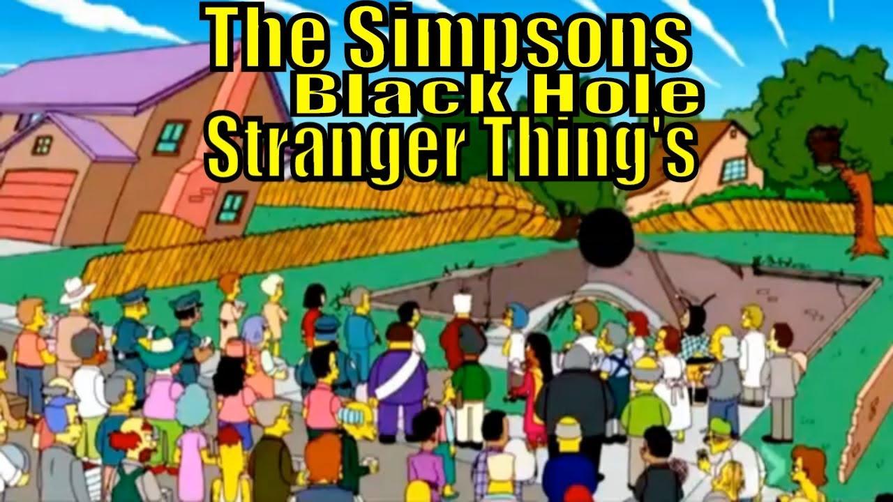 Simpsons Bart Stranger Thing's Black Hole Homer - YouTubeBlack Bart Simpson Do The Right Thing