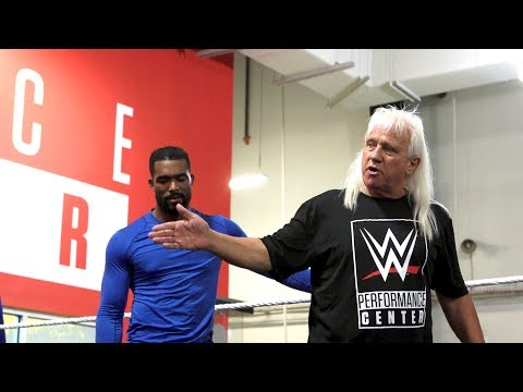 WWE Hall Of Famer Ricky Morton Teaches The Next Generation Of WWE Tag Teams