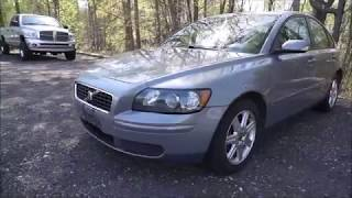 2006 Volvo S40 2.4I Walkaround and Start Up