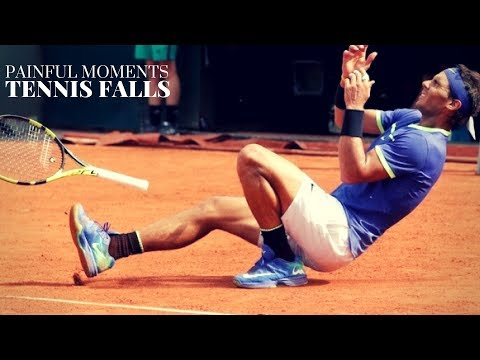 Tennis. Falls #Ankle Breakers #Points