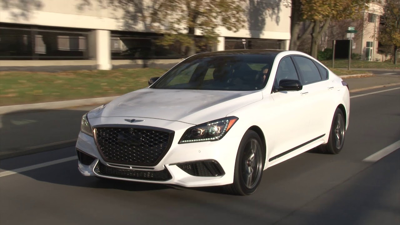 2018 genesis g80 sport complete review with steve hammes driiive tv find the best car. Black Bedroom Furniture Sets. Home Design Ideas