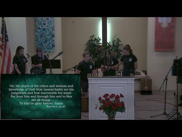 Calvary Baptist Church June 13, 2021