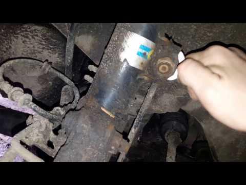 Замена стоек и втулок стабилизатора Opel vectra B