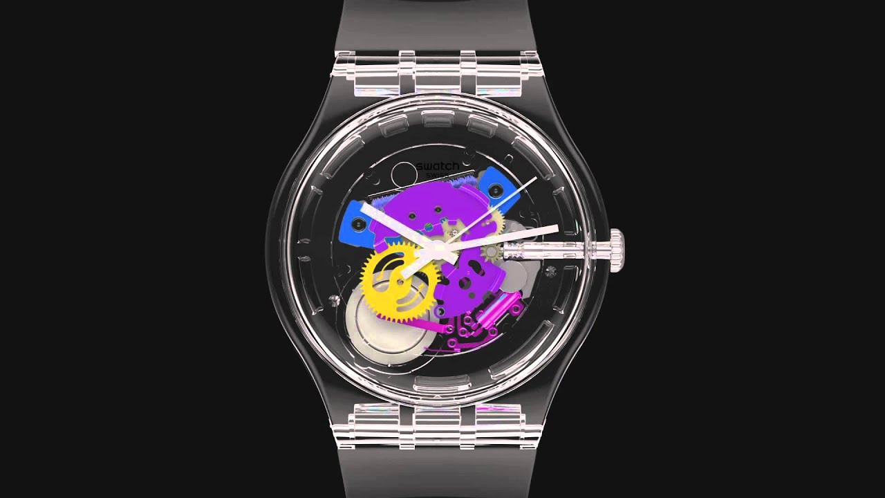 Swatch Random Ghost SUOK111 Watch Has 15,120 Possible Dials   aBlogtoWatch