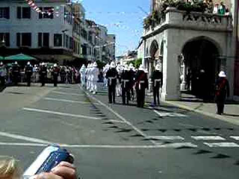 Band of HM Royal Marines at Gibraltar 2004 (1)