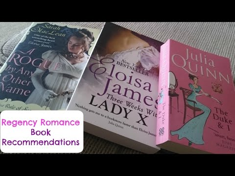 Regency Romance Book Recommendations