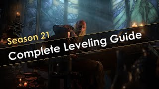 Diablo 3 Season 21 Leveling Guide