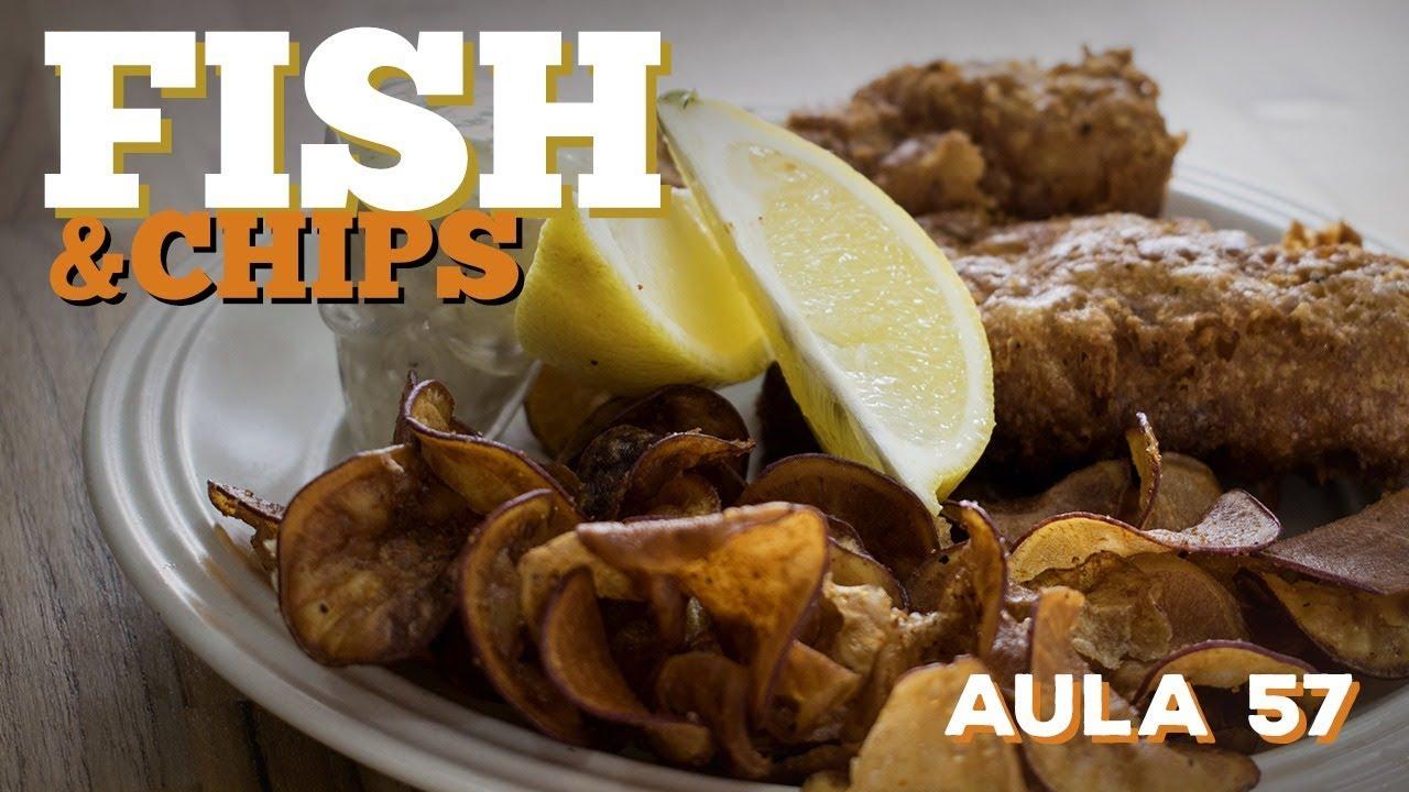 Fish and Chips (Como fazer peixe frito inglês com batatas) / Cansei de Ser Chef