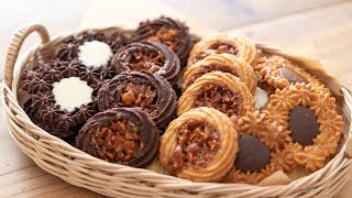キャラメル・バタークッキーの作り方とラッピング Caramel Butter Cookie(Vanilla & Chocolate)|HidaMari Cooking