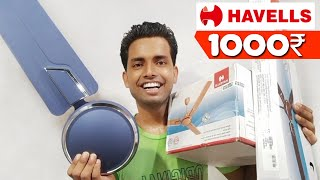 Havells Andria Ceiling fan unboxing amp review Best ceiling fan under 1000 rupees