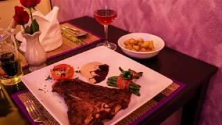 Steak-Specialists Chiang Rai: T-Bone Steak on Fire