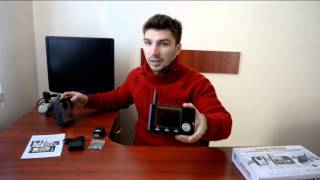 Цифровой беспроводный 2.4 Ghz цветной видео домофон с 3.5 TFT дисплеем (модель CS335K)(, 2014-02-06T20:26:51.000Z)
