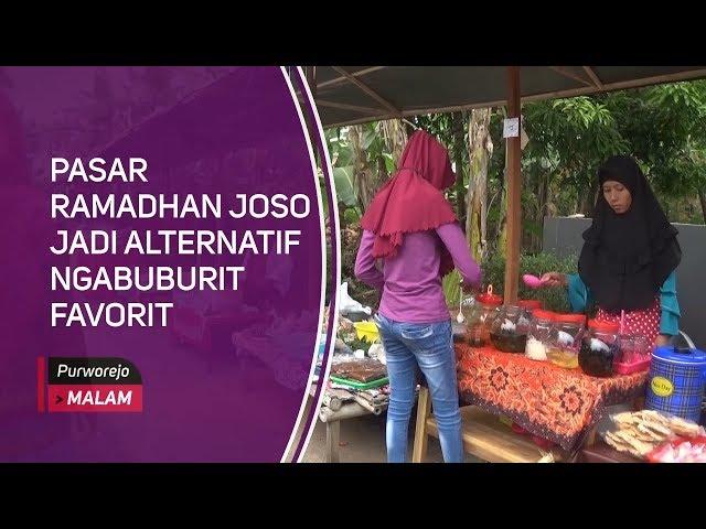 Pasar Ramadhan Joso Jadi Alternatif Ngabuburit Favorit