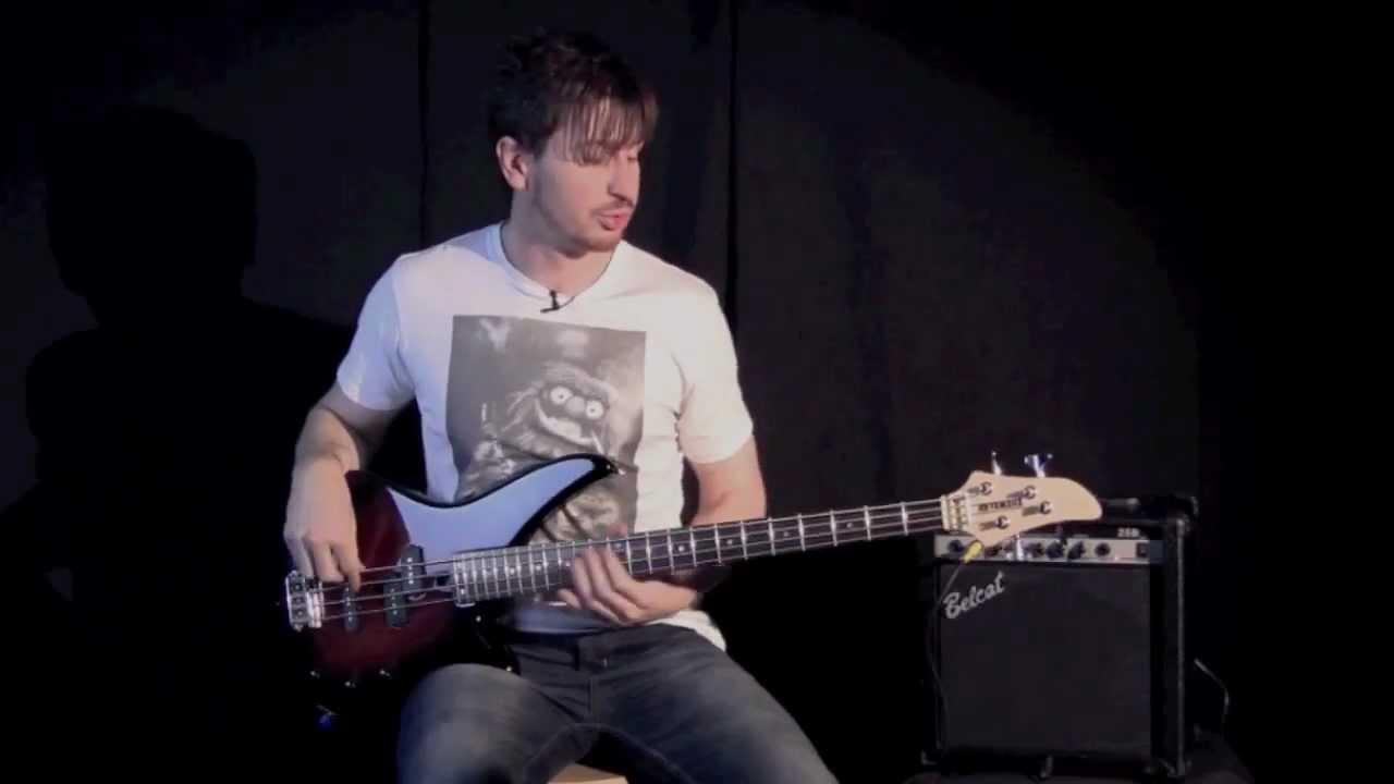 Mike Lyon Demonstrates The Yamaha RBX170 Bass Guitar