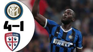 футбол, Чемпионат Италии Интер  Кальяри 1-1 Обзор матча