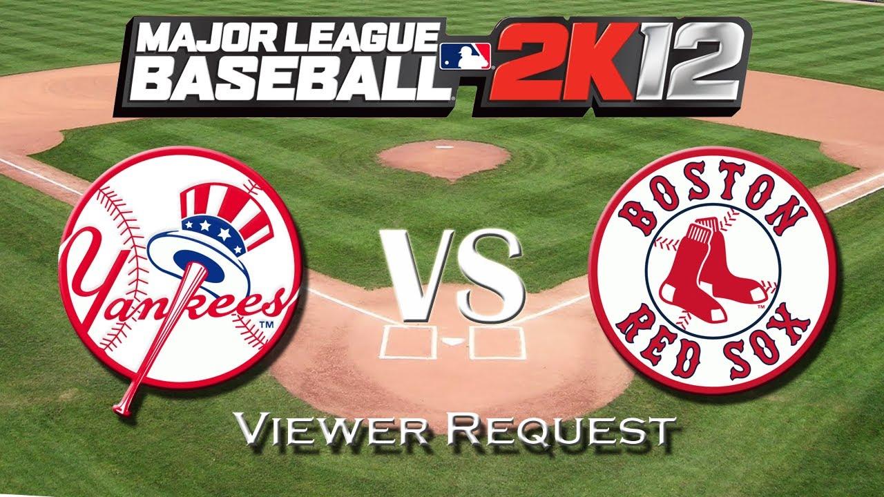 MLB 2K12: New York Yankees vs. Boston Red Sox - Viewer ...