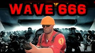 Team Fortress 2 Man vs Machine Wave 666 With Engineer