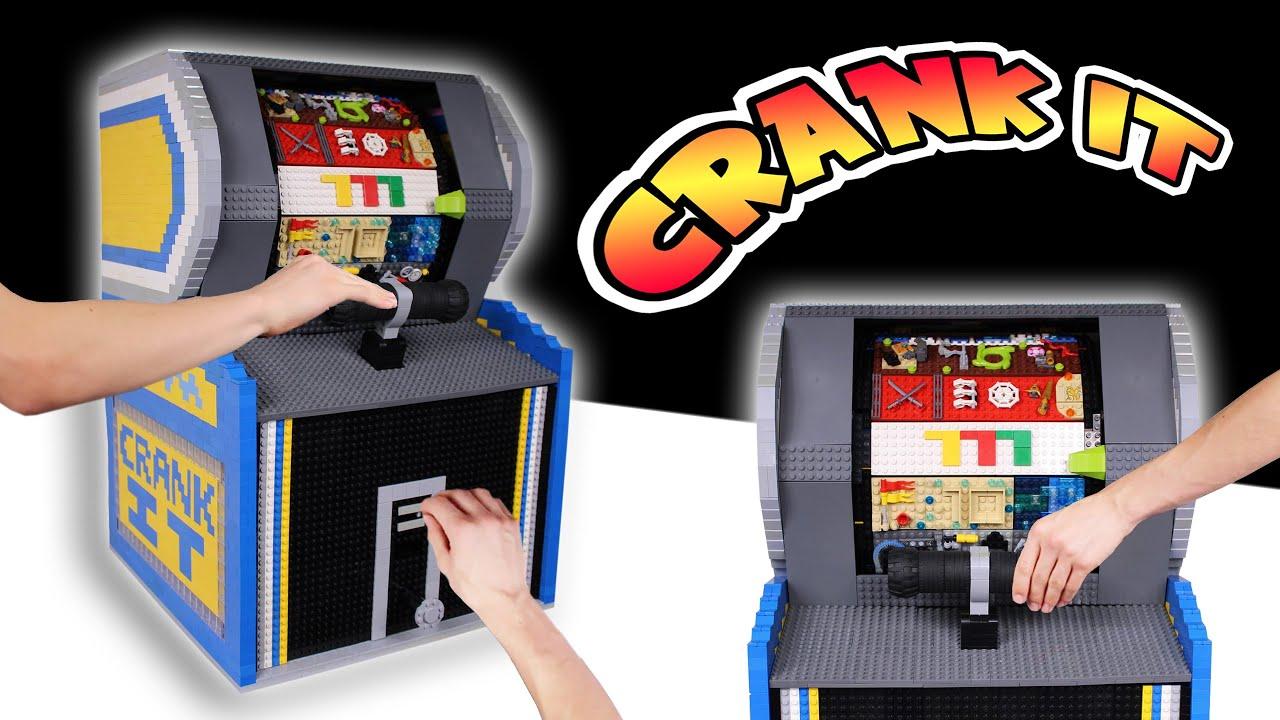 MEGA LEGO Big Bass Wheel PRO Arcade Game | CRANK IT