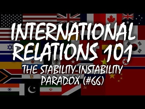 International Relations 101 (#66): The Stability-Instability Paradox