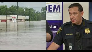 Houston PD Chief Announces How Many Looters Attempted to Prey on Harvey—Then Gives...