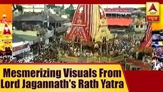 Mesmerizing Visuals From Lord Jagannath's Rath Yatra In Puri, Ahemdabad And Pandharpur | ABP News