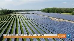 Dominion Energy incorporates solar farms into their renewable energy initiative