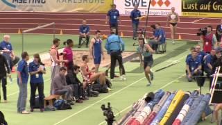 Indoor Meeting Karlsruhe 2014 - Stabhochsprung Männer - Malte Mohr, 5,75m