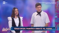 Terza sfida: Federica Abbate vs Fasma - La presentazione - Sanremo Giovani a ItaliaSì! 23/11/2019