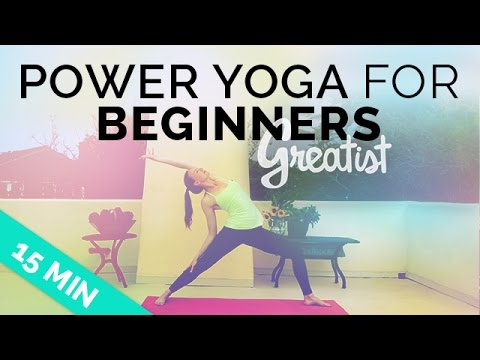 The 15-Minute Power Yoga Workout for Beginners