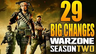 Call of Duty Warzone: 29 Bİg Changes in The Season 2 Update! (Update 1.32)