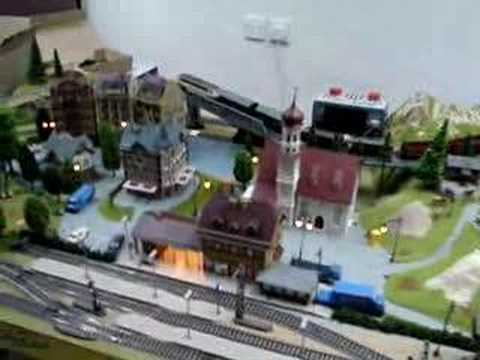 Model Railway Layout with Fleischmann Natvigation