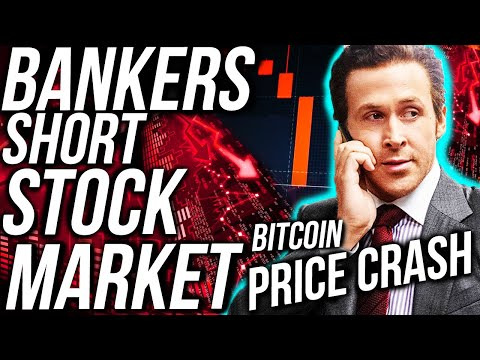 HUGE!! BITCOIN PRICE CRASH! INVESTMENT BANK SHORTS STOCK MARKET!! Stocks & Crypto News