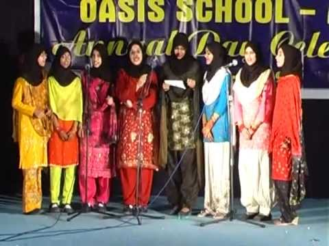 oasis school alain annual day girls group hindi song youtube