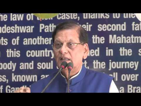 Speech Dr. Bindeshwar Pathak - Sulabh 47th Foundation Day
