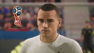FIFA 18 WORLD CUP MODE - OVER 15 NEW PLAYER FACES (JUNE, 2018)
