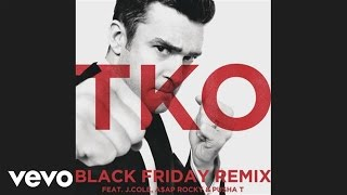 Repeat youtube video Justin Timberlake - TKO (Black Friday Remix) (Audio) ft. J. Cole, A$AP ROCKY, Pusha T