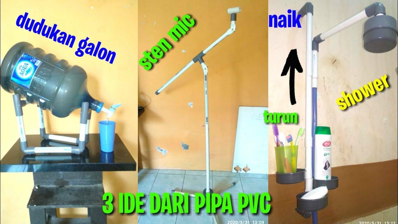3 Ide Kreatif Dari Pipa Pvc Manfaat Lain Dari Pipa Pvc Youtube