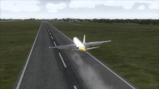 DELHI AIRPORT Emergency Landing Boeing 767-300ER