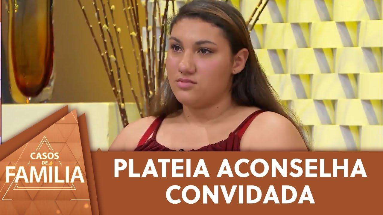 Convidada recebe conselhos da plateia   Casos de Família (21/09/20)