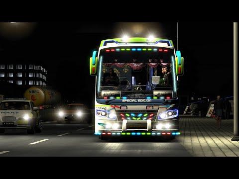 T.V.M Travels Private Bus Maruti V2 | Euro Truck Simulator 2 V1.30..