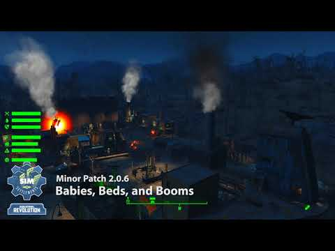 Sim Settlements: Patch - Babies, Beds, and Booms