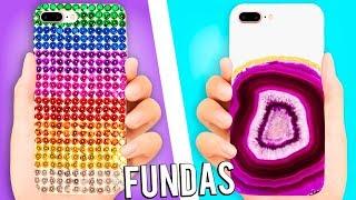 Download Video HAZ FUNDAS PARA TU CELULAR ❤️ 5 IDEAS - Tutoriales Belen MP3 3GP MP4