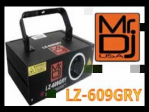 Mr Dj USA - LZ-609GRY | DJ Equipment Lighting Lasers.avi