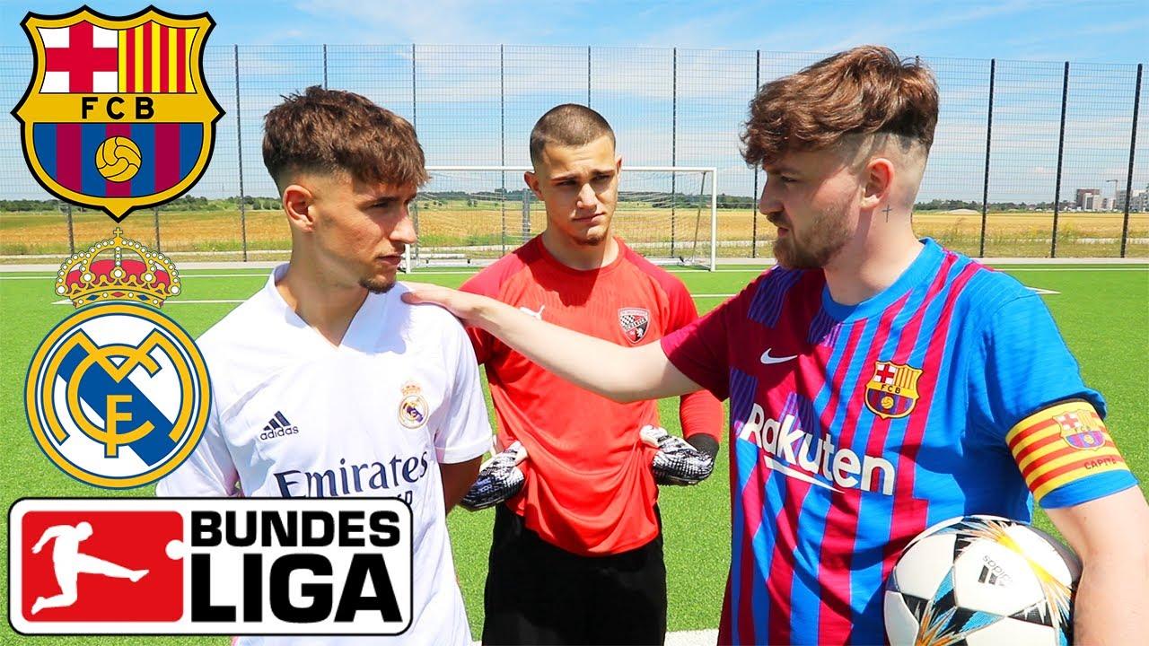 FUSSBALL CHALLENGE vs. U19 Bundesliga Spieler - Matti & Lukas | ViscaBarca