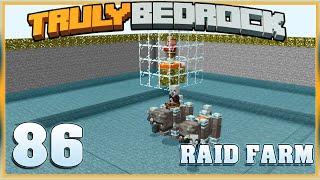 Truly Bedrock E86 Raid Farm | Minecraft Bedrock