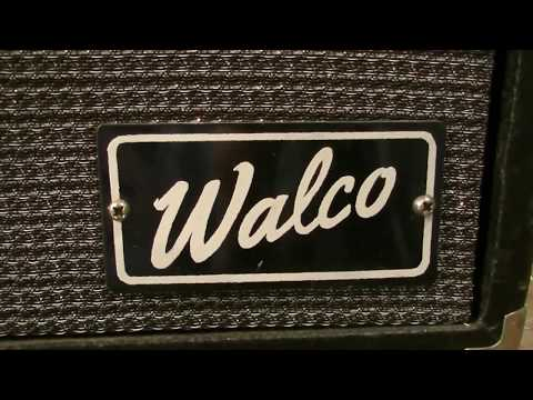 RARE Guitar Amp Made by Kentucky HILLBILLIES  - Will it Even Make Sound?! (Walco G150R Repair)