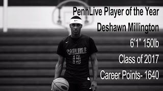 Deshawn Millington Pennlive Player of the Year